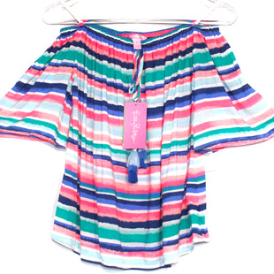 Primary Photo - BRAND: LILLY PULITZER STYLE: TOP SHORT SLEEVE COLOR: STRIPED SIZE: XS SKU: 262-26275-64048DESIGNER FINAL OFF SHOULDER STYLE