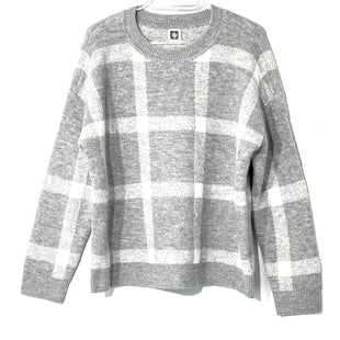 Primary Photo - BRAND: ANNE KLEIN STYLE: SWEATER LIGHTWEIGHT COLOR: CHECKED SIZE: L SKU: 262-26275-748721% ELASTANE