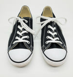 Primary Photo - BRAND: CONVERSE <BR>STYLE: SHOES ATHLETIC <BR>COLOR: BLACK WHITE <BR>SIZE: 7 <BR>SKU: 262-26211-140017<BR>AS IS <BR>