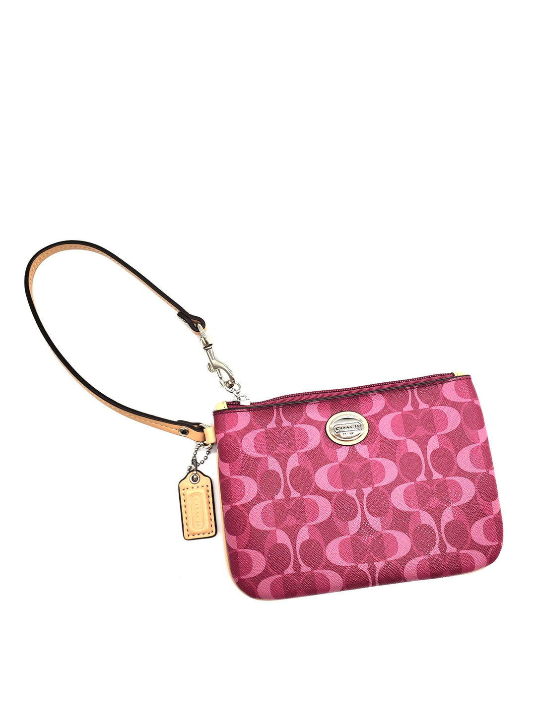 Primary Photo - BRAND: COACH <BR>STYLE: WRISTLET <BR>COLOR: MONOGRAM <BR>SKU: 262-26275-62645<BR>AS IS<BR>DESIGNER ITEM FINAL SALE
