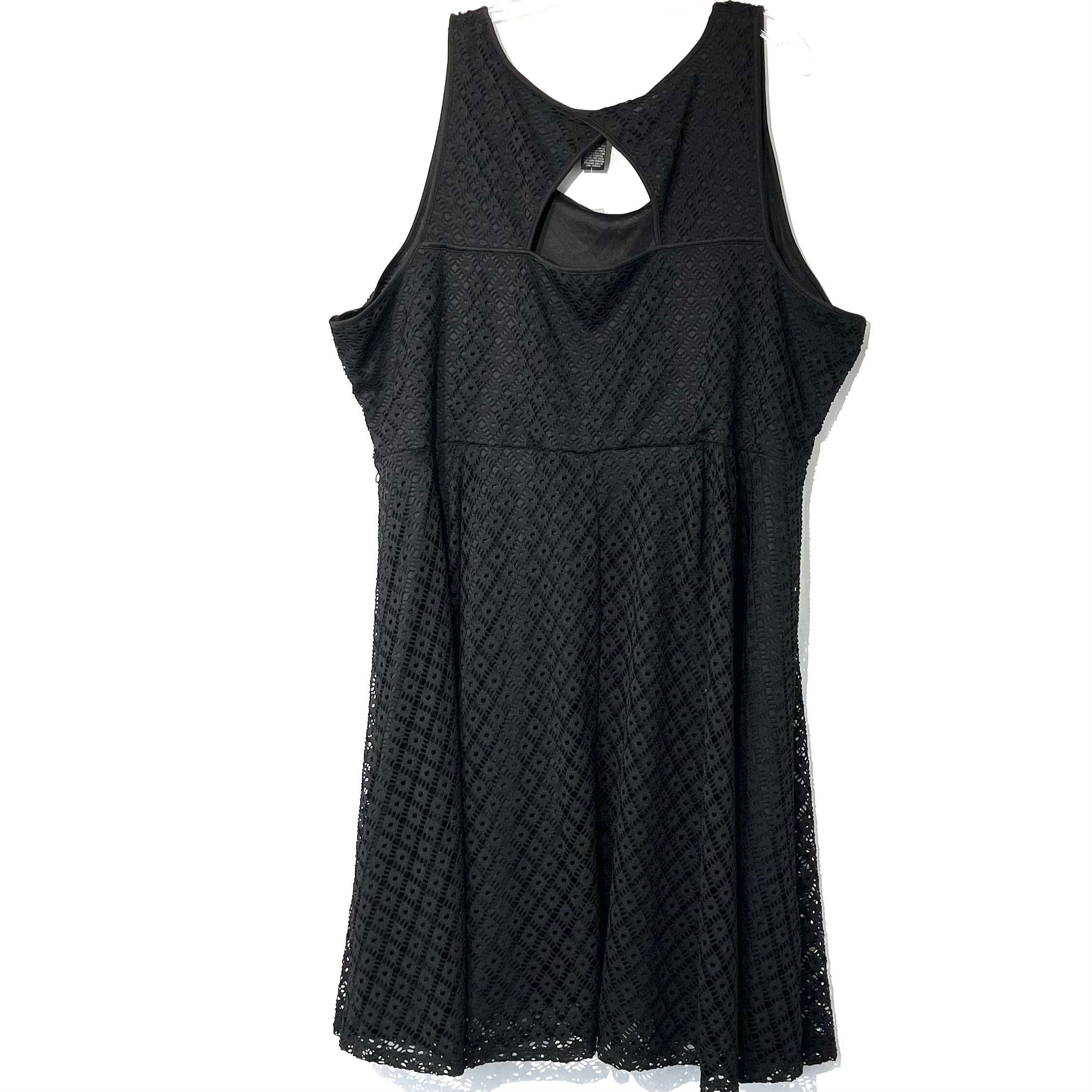 Photo #1 - BRAND: LANE BRYANT <BR>STYLE: DRESS SHORT SLEEVELESS <BR>COLOR: BLACK <BR>SIZE: 3X/28<BR>SKU: 262-26211-139630