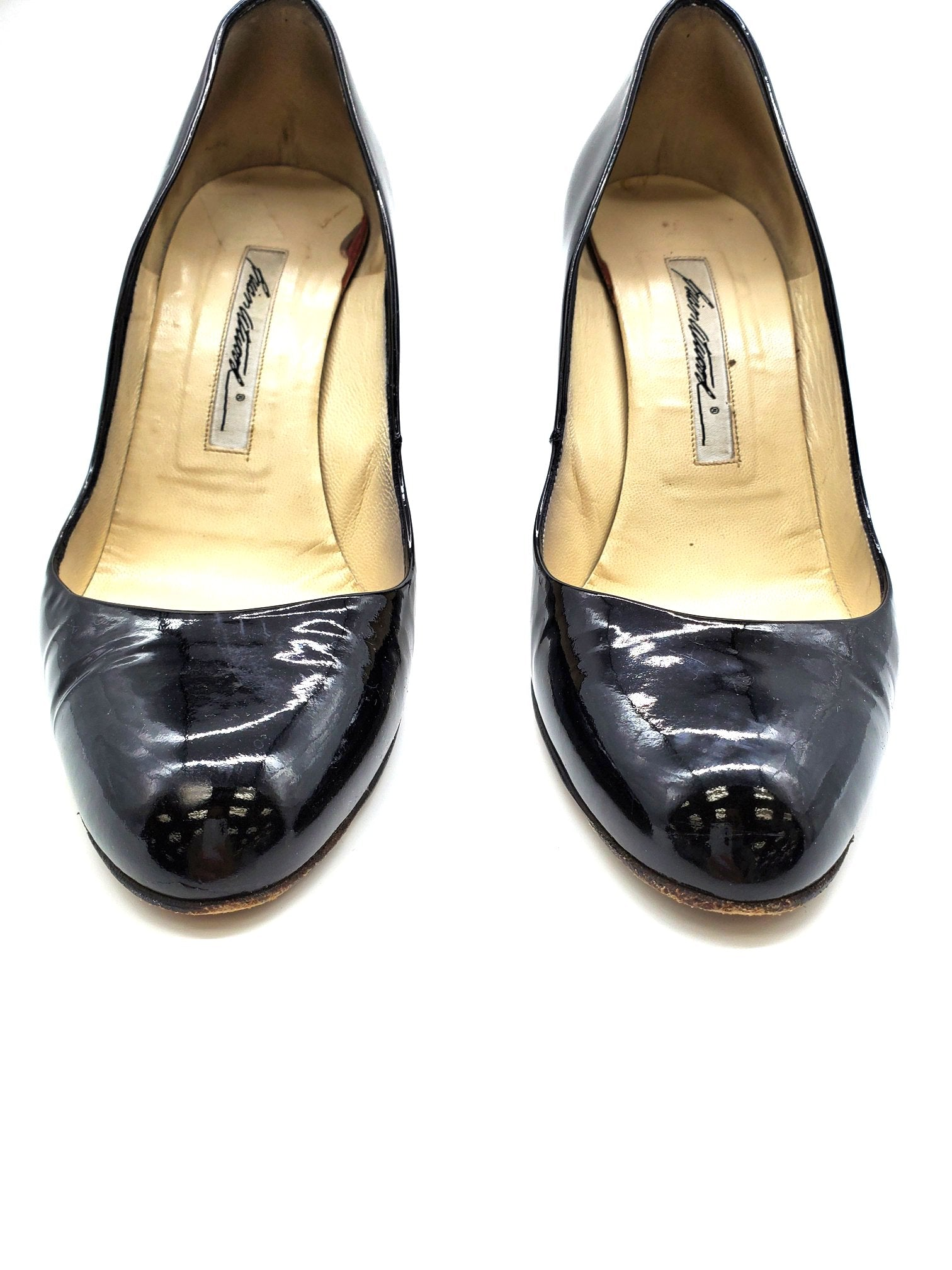 Photo #1 - BRAND:    BRIAN ATWOOD <BR>STYLE: SHOES LOW HEEL <BR>COLOR: BLACK <BR>SIZE: 8.5 <BR>SKU: 262-26211-138968<BR>AS IS SLIGH WEAR <BR>