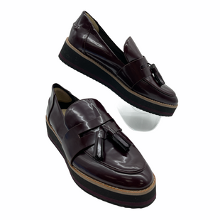 Primary Photo - BRAND: ZARA WOMEN STYLE: SHOES FLATS COLOR: MAROON SIZE: 7.5 SKU: 262-26241-47840
