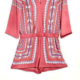 Primary Photo - BRAND: BCBGMAXAZRIA STYLE: ROMPERCOLOR: MULTI SIZE: XXS SKU: 262-26275-65192