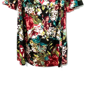 Primary Photo - BRAND: CONNECTED APPAREL STYLE: DRESS SHORT LONG SLEEVE COLOR: FLORAL SIZE: 20/2XSKU: 262-26275-46233