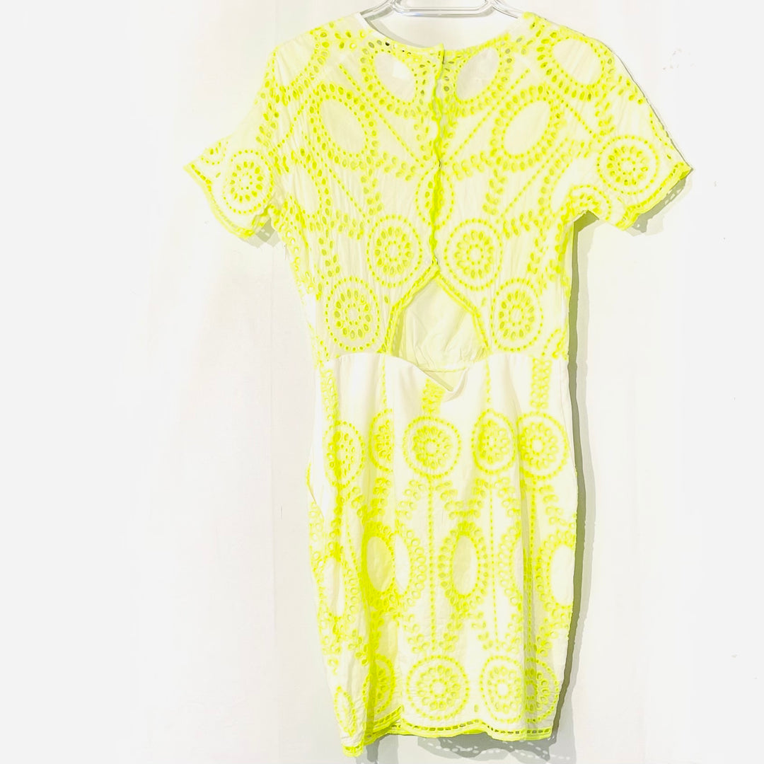 Photo #1 - BRAND: DOLCE VITA <BR>STYLE: DRESS SHORT SHORT SLEEVE <BR>COLOR: YELLOW <BR>SIZE: M <BR>SKU: 262-26275-74911