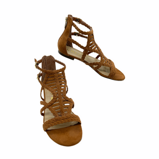 Primary Photo - BRAND: UNISA STYLE: SANDALS FLAT COLOR: BROWN SIZE: 8 SKU: 262-26211-145480IN GOOD SHAPE AND CONDITION