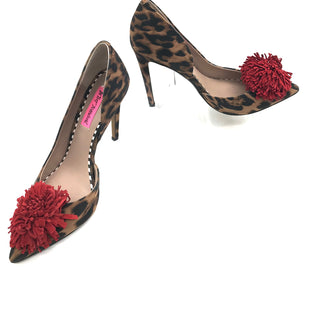 Primary Photo - BRAND: BETSEY JOHNSON STYLE: SHOES LOW HEEL COLOR: ANIMAL PRINT SIZE: 7.5 SKU: 262-26275-72964