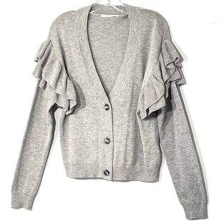 Primary Photo - BRAND:    PLANET GOLDSTYLE: SWEATER CARDIGAN LIGHTWEIGHT COLOR: GREY SIZE: MOTHER INFO: PLANET GOLD - SKU: 262-26275-7505960% COTTONSIZE TAG MISSING AS IS