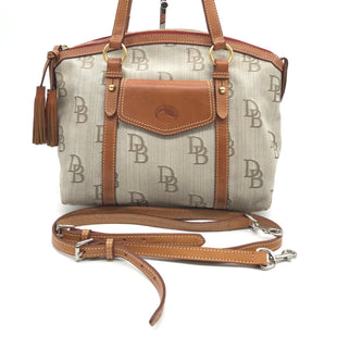 "Primary Photo - BRAND: DOONEY AND BOURKE STYLE: HANDBAG DESIGNER COLOR: MONOGRAM SIZE: MEDIUM 10""H X 12.5""L X 6""WSTRAP DROP: 24""SKU: 262-26241-42479GENTLE WEAR - AS IS"