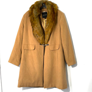 Primary Photo - BRAND: IVANKA TRUMP STYLE: COATCOLOR: TANSIZE: 1X SKU: 262-26275-7449663% WOOLFAUX FUR