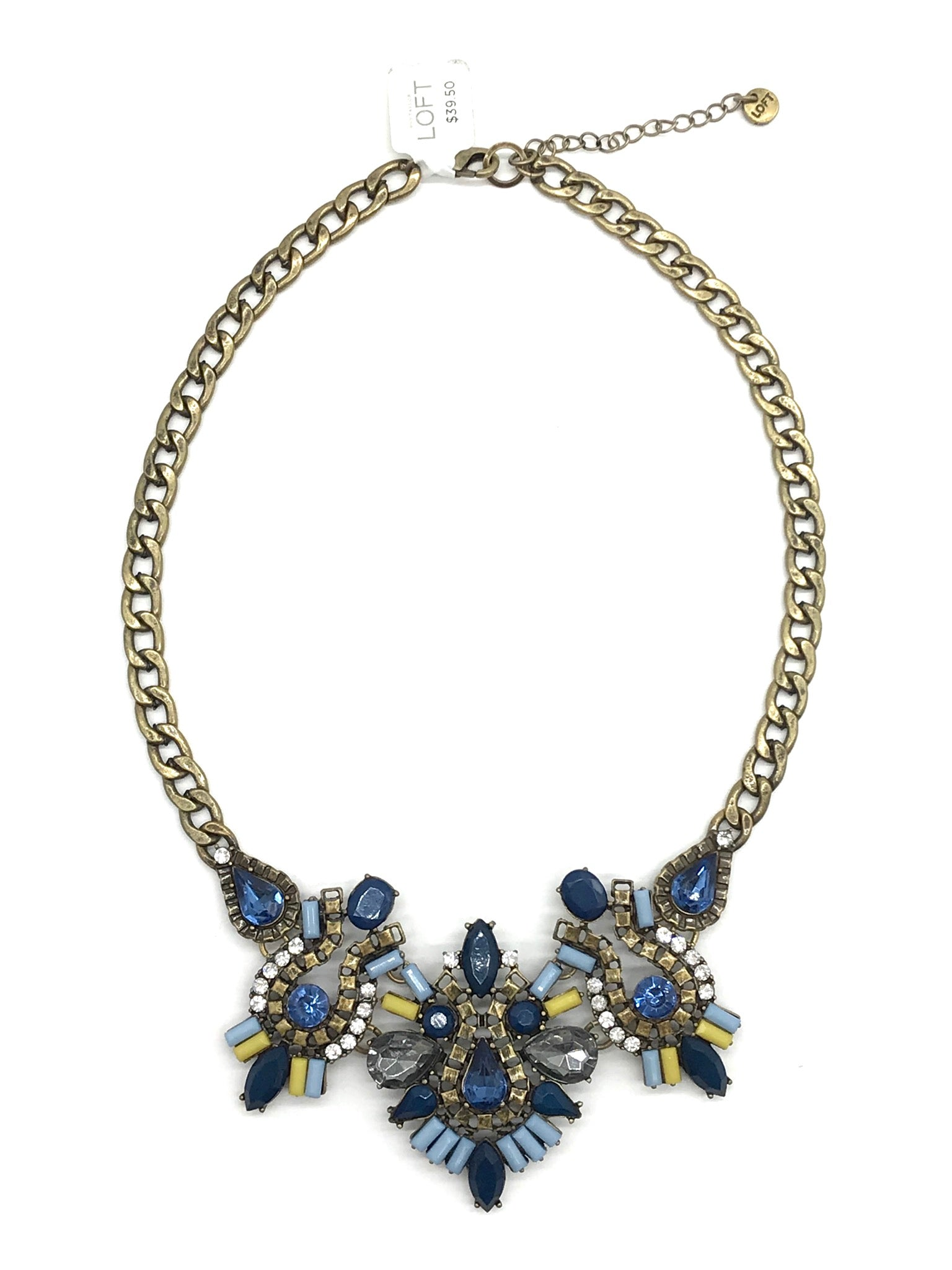 Photo #1 - BRAND:  ANN TAYLOR LOFT<BR>STYLE: NECKLACE <BR>COLOR: MULTI <BR>SKU: 262-262101-1138<BR>AS IS