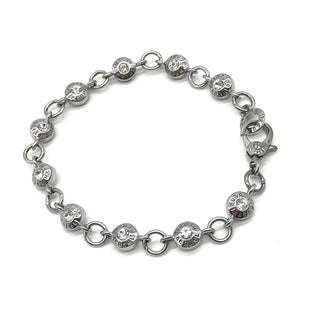 Primary Photo - BRAND: HENRI BENDEL STYLE: BRACELET COLOR: SILVER SKU: 262-26275-68739SLIGHT TARNISHING ON THE CLOSURE AREA - AS IS