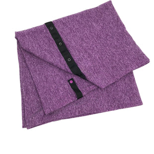"Primary Photo - BRAND: LULULEMON STYLE: SCARF COLOR: PURPLE SKU: 262-26285-2996AS IS DESIGNER BRAND FINAL SALE APPROX 60""X26"""