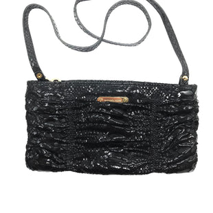 "Primary Photo - BRAND: MICHAEL KORS STYLE: HANDBAG DESIGNER COLOR: BLACK SKU: 262-26275-68396APPROX. 9.5""L X 5""H. COUPLE SLIGHT SCRATCHES TO METALWARE"