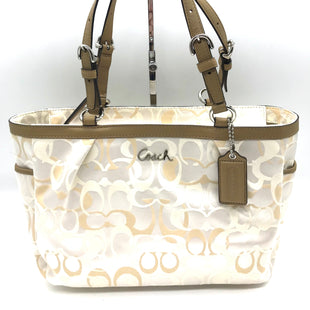 "Primary Photo - BRAND: COACH STYLE: HANDBAG DESIGNER COLOR: MONOGRAM SIZE: MEDIUM SKU: 262-26275-73461APPROX. 12.5""L X 8.5""L X 4.5""D."