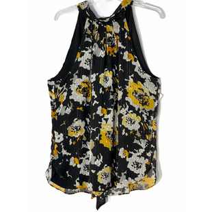 Primary Photo - BRAND: WHITE HOUSE BLACK MARKET STYLE: TOP SLEEVELESS COLOR: FLORAL BLACKSIZE: XL/14SKU: 262-26241-47632