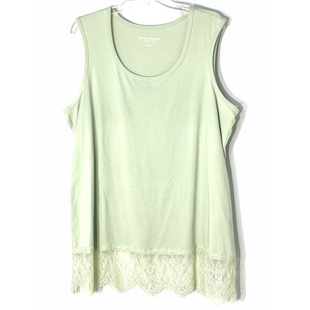 Primary Photo - BRAND: SOFT SURROUNDINGS STYLE: TOP SLEEVELESS BASIC COLOR: MINT SIZE: 1X SKU: 262-26241-47546
