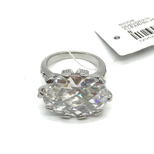 Primary Photo - BRAND: FOR LOVE 21STYLE: RING SIZE: 8COLOR: CLEAR/SILVERSKU: 262-26275-68522AS IS
