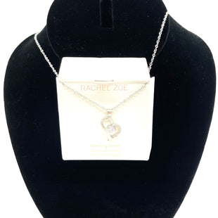 "Primary Photo - BRAND: RACHEL ZOE STYLE: NECKLACE COLOR: STERLING SILVER SKU: 262-26211-14368218""HEART"