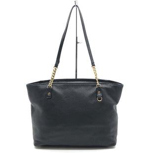 "Primary Photo - BRAND: MICHAEL KORS STYLE: HANDBAG DESIGNER COLOR: BLACK SIZE: MEDIUM 9.5""H X 12""L X 5""WDROP: 11.5""SKU: 262-26275-77571GENTLE WEAR ON BOTTOM CORNERS • AS IS"