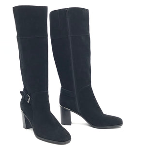 Primary Photo - BRAND: BANDOLINO STYLE: BOOTS KNEE COLOR: BLACK SIZE: 9.5 SKU: 262-26275-77631IN GOOD SHAPE AND CONDITION