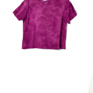 Primary Photo - BRAND: ATHLETA STYLE: ATHLETIC TOP SHORT SLEEVE COLOR: PURPLE SIZE: S SKU: 262-26275-72343CROPPED STYLE