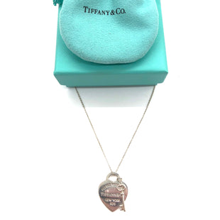 "Primary Photo - BRAND: TIFFANY AND COMPANY STYLE: NECKLACE COLOR: STERLING SILVER SIZE: 16""SKU: 262-26211-14430316"", SOME SLIGHT MARKS TO BACK AS SHOWN"