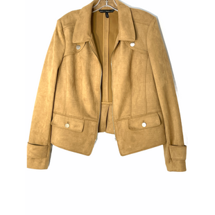Primary Photo - BRAND: WHITE HOUSE BLACK MARKET STYLE: JACKET OUTDOOR COLOR: TAN SIZE: XL SKU: 262-26241-47655SLIGHTEST INK MARK FRONT BELOW LEFT POCKET AS IS