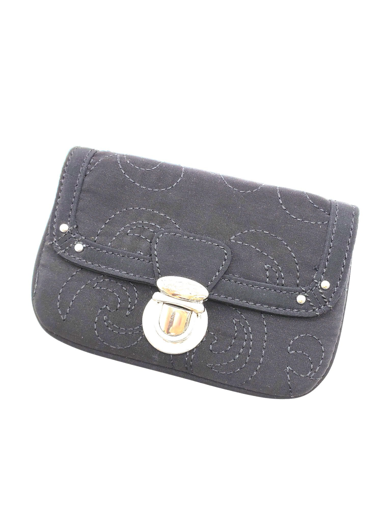 Primary Photo - BRAND: VERA BRADLEY <BR>STYLE: COIN PURSE <BR>COLOR: BLACK <BR>SIZE: SMALL <BR>SKU: 262-26211-139524<BR>AS IS