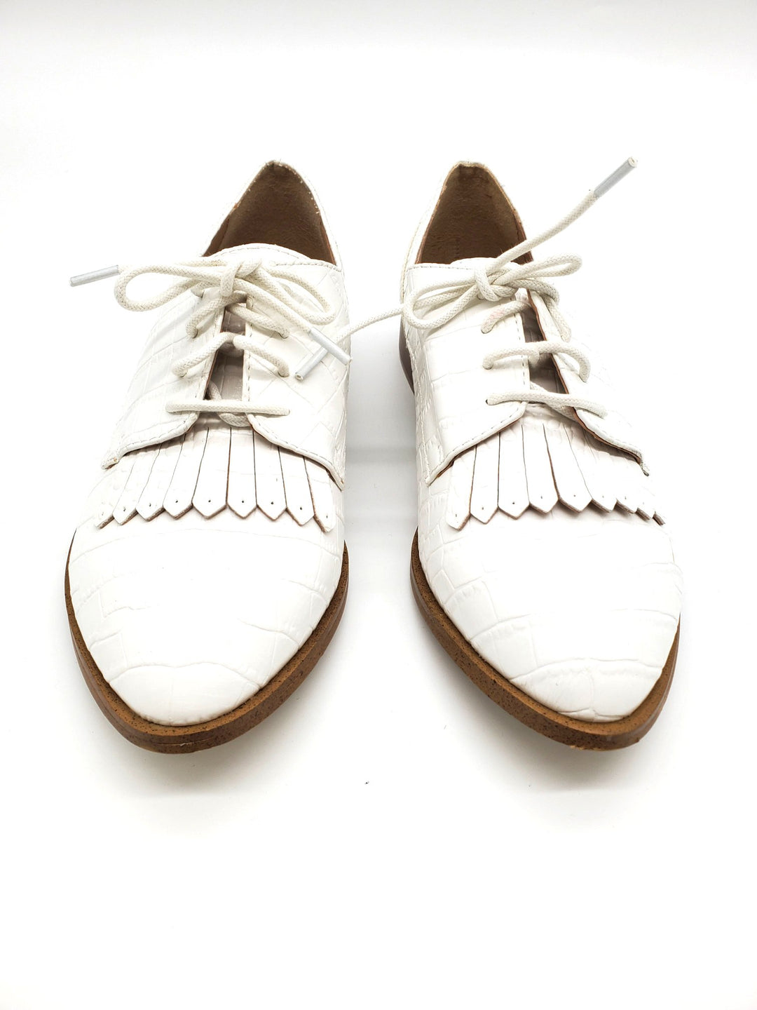 Primary Photo - BRAND: KENSIE <BR>STYLE: SHOES FLATS <BR>COLOR: WHITE <BR>SIZE: 7 <BR>SKU: 262-26275-64174<BR>AS IS SLIGHT SPOTS <BR>