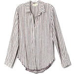 Primary Photo - BRAND: CLOTH AND STONE <BR>STYLE: TOP LONG SLEEVE <BR>COLOR: STRIPED <BR>SIZE: M <BR>SKU: 262-26211-141978