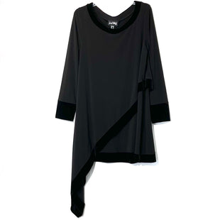Primary Photo - BRAND: JOSEPH RIBKOFF STYLE: DRESS SHORT LONG SLEEVE COLOR: BLACK SIZE: L/12SKU: 262-262101-2505