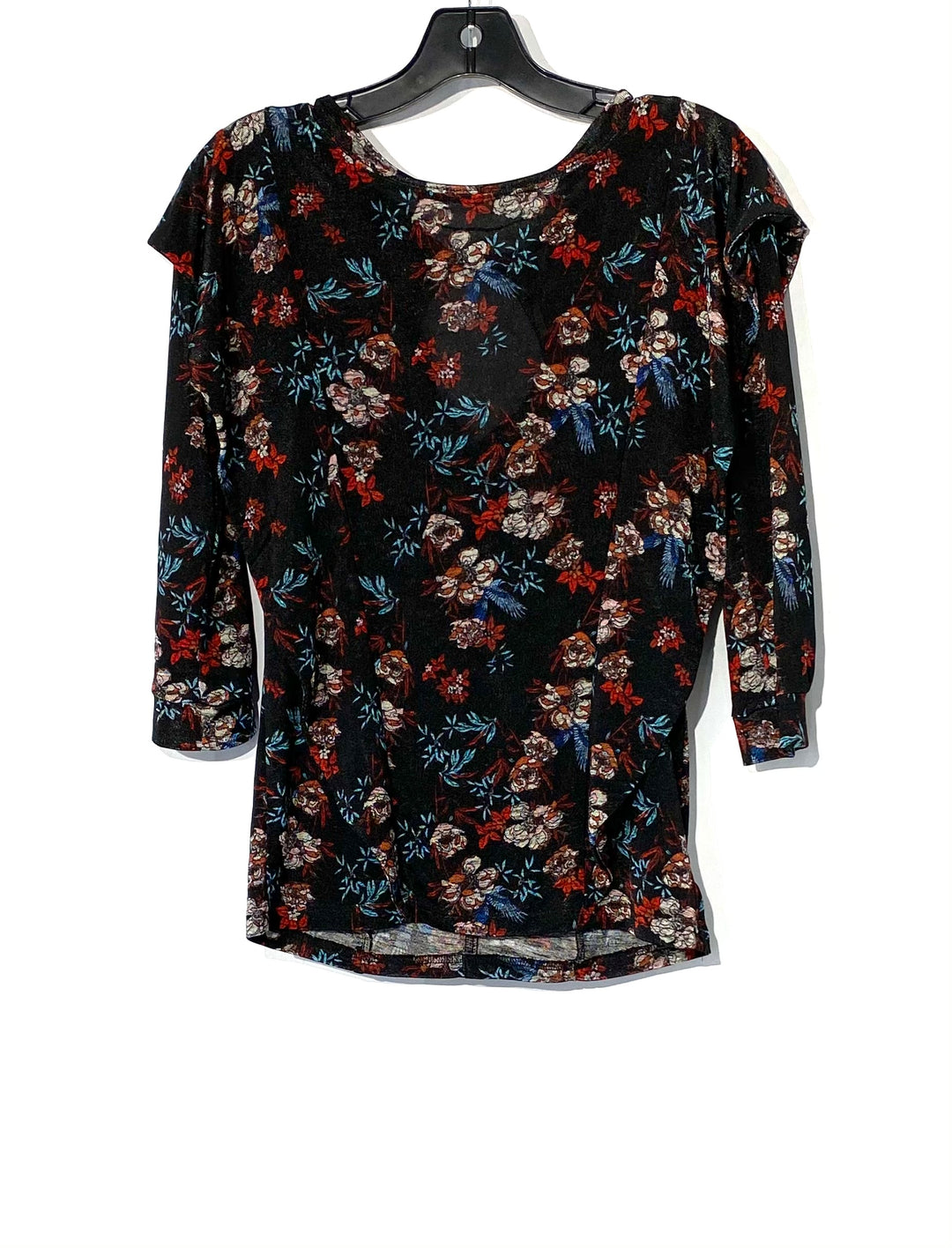 Primary Photo - BRAND: FREE PEOPLE <BR>STYLE: TOP 3/4 LONG SLEEVE <BR>COLOR: FLORAL <BR>SIZE: XS <BR>SKU: 262-26275-70593