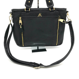 "Primary Photo - BRAND: AIMEE KESTENBERG STYLE: HANDBAG COLOR: BLACK SIZE: SMALL SKU: 262-26275-71688AS IS SLIGHT SPOTS INSIDE DESIGNER BRAND FINAL SALE APPROX 12""X10""X3""."