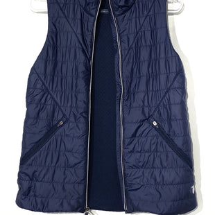 Primary Photo - BRAND: NEW BALANCE STYLE: VEST QUILTEDCOLOR: NAVY SIZE: XSSKU: 262-26241-42320