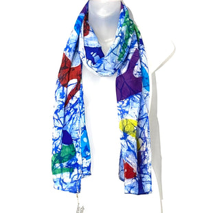 Primary Photo - BRAND:    CLOTHES MENTOR STYLE: SCARF SKU: 262-26275-74084SILK HAND PAINTED