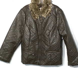 Primary Photo - BRAND: CHICOS STYLE: JACKET OUTDOOR COLOR: BROWN SIZE: XL /3SKU: 262-26275-67723