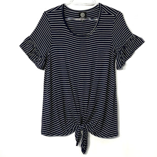 Primary Photo - BRAND: BOBEAU STYLE: TOP SHORT SLEEVE COLOR: STRIPED SIZE: S SKU: 262-26275-74049