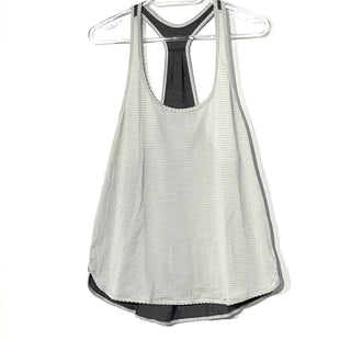Primary Photo - BRAND: LULULEMON STYLE: ATHLETIC TANK TOP COLOR: GREY SIZE: L OTHER INFO: APPROX. SZ.12 SKU: 262-26241-45287GENTLEST STATIC AS ISSIZE TAG MISSING AS IS