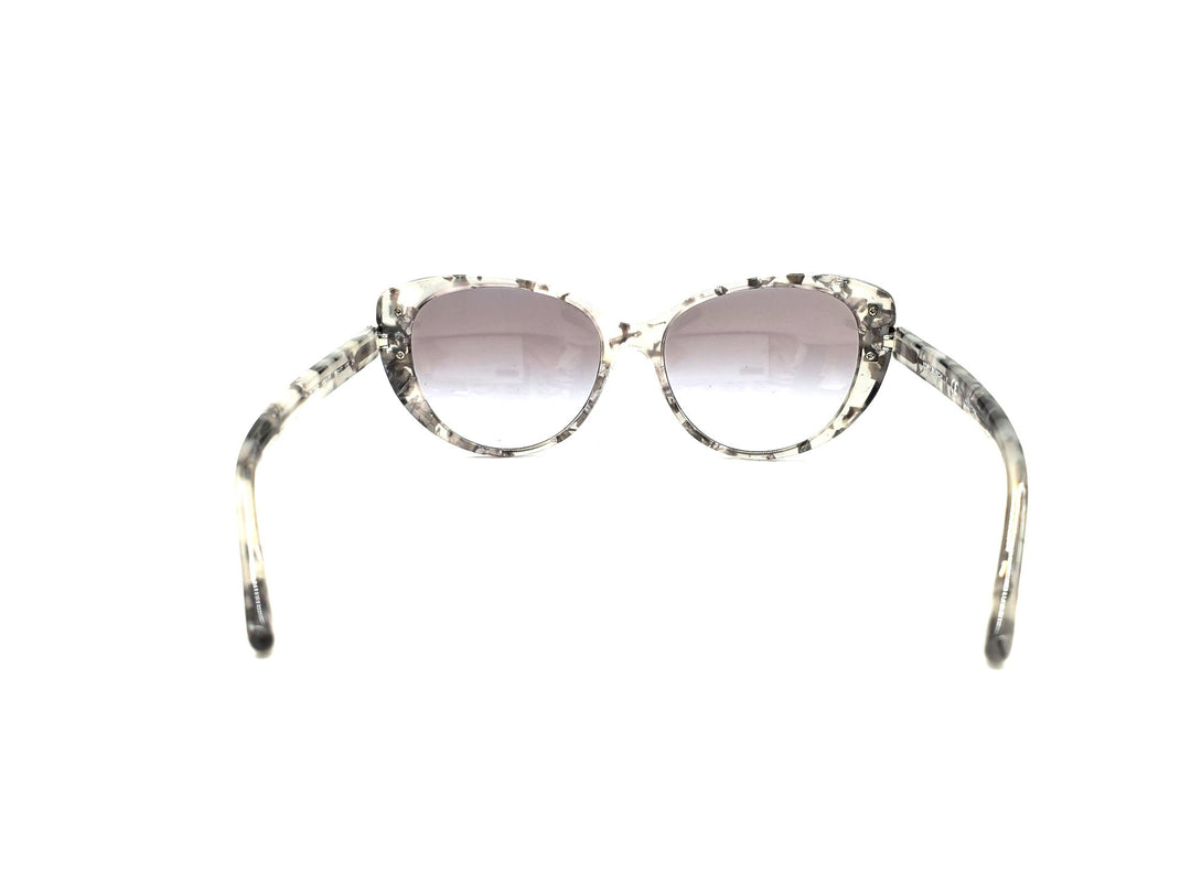Photo #2 - BRAND: TORY BURCH <BR>STYLE: SUNGLASSES <BR>COLOR: GREY <BR>SKU: 262-26241-42170<BR>AS IS <BR>DESIGNER ITEM FINAL SALE