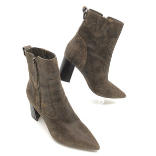 Primary Photo - BRAND: PAIGE STYLE: BOOTS ANKLE COLOR: BROWN SIZE: 8 SKU: 262-26241-44849AS IS