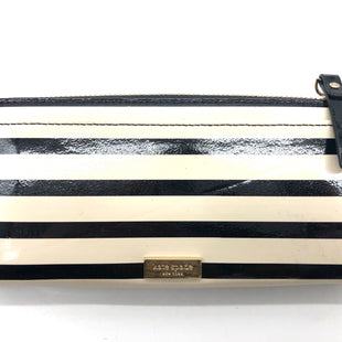 "Primary Photo - BRAND: KATE SPADE STYLE: WALLET COLOR: STRIPED SIZE: LARGE SKU: 262-26275-76654APPROX. 7.5""L X 3.5""H. SOME GENTLE SPOTS"