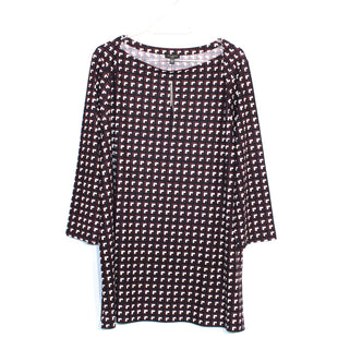 Primary Photo - BRAND: TALBOTS STYLE: TUNIC/TOP LONG SLEEVE COLOR: GEOMETRIC SIZE: 2X SKU: 262-26275-61411