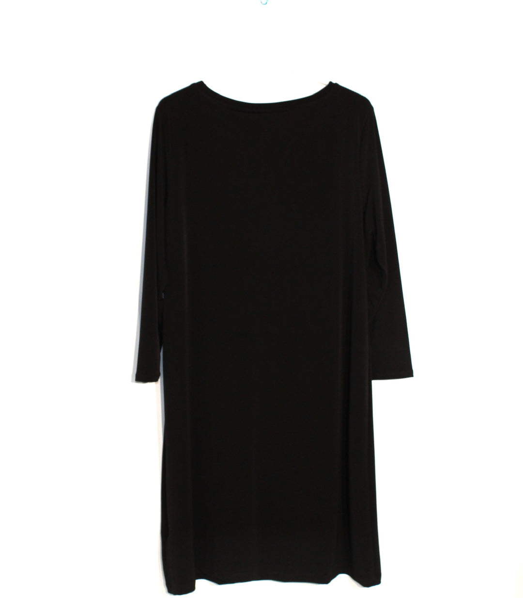 Photo #1 - BRAND: CHICOS <BR>STYLE: DRESS SHORT LONG SLEEVE <BR>COLOR: BLACK <BR>SIZE: L/2<BR>SKU: 262-26275-61132