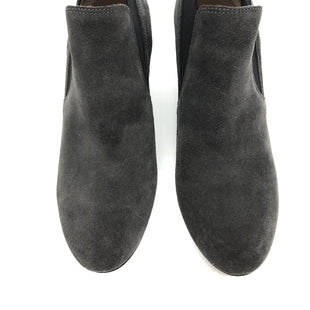 Primary Photo - BRAND: VIA SPIGA STYLE: BOOTS ANKLE COLOR: GREY SIZE: 8.5 SKU: 262-26241-40593SOME SLIGHT WEAR TO THE SUEDE BUT VERY GOOD OVERALL CONDITION
