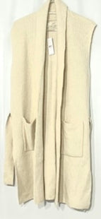 Primary Photo - BRAND: ANN TAYLOR LOFT STYLE: SWEATER CARDIGAN LIGHTWEIGHT LONGCOLOR: BEIGE SIZE: M SKU: 262-26211-14154625% WOOL2% SPANDEX