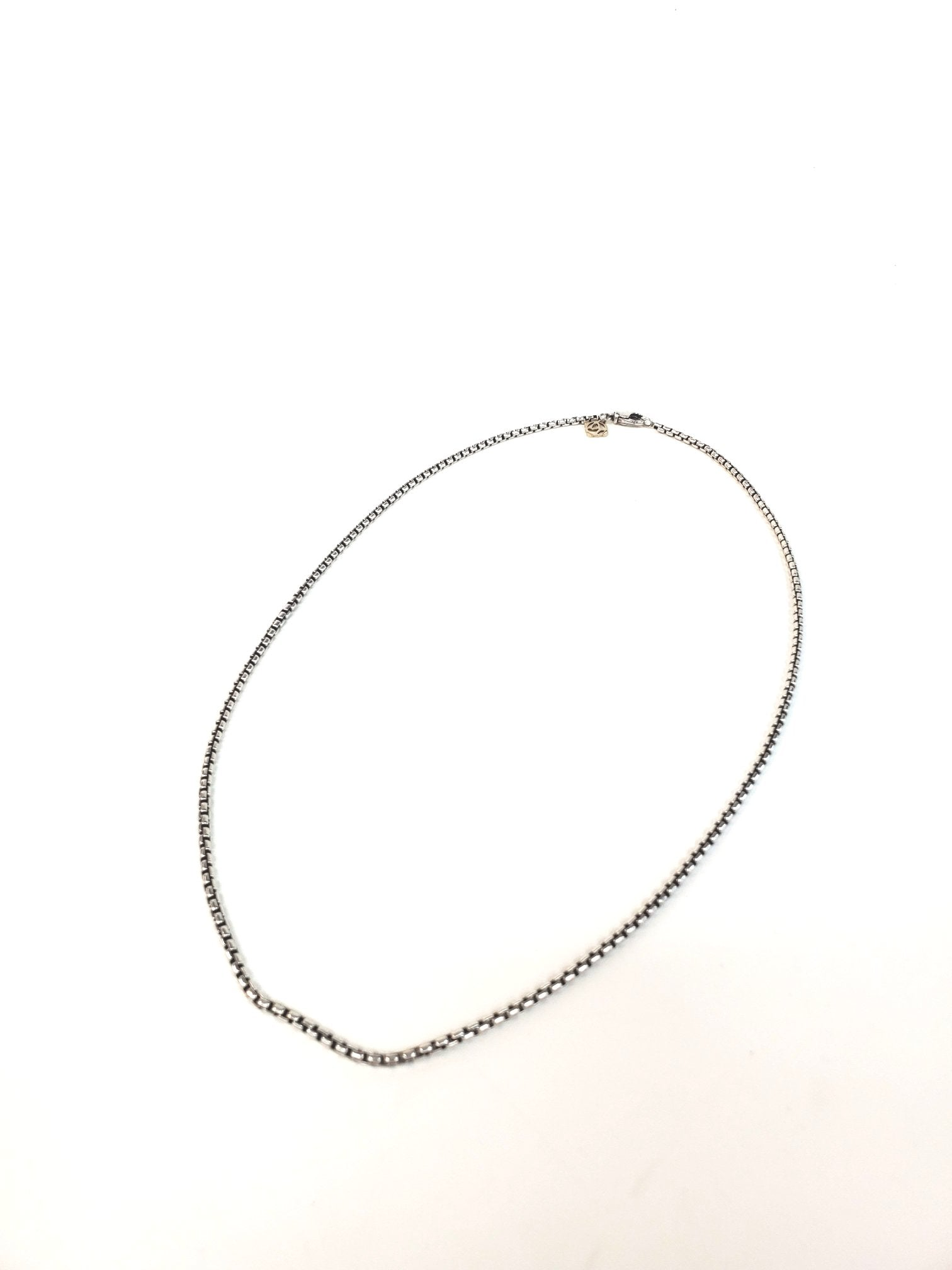 Photo #1 - BRAND: DAVID YURMAN <BR>STYLE: NECKLACE <BR>COLOR: STERLING SILVER <BR>SIZE: 20 INCH <BR>SKU: 262-26275-47324<BR>AS IS <BR>DESIGNER ITEM FINAL SALE