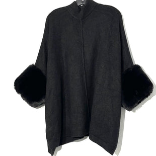 Primary Photo - BRAND: SAKS FIFTH AVENUE STYLE: SWEATER HEAVYWEIGHT COLOR: BLACK SIZE: L SKU: 262-26275-76554