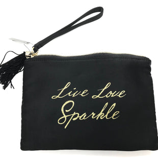 "Primary Photo - BRAND: WHITE HOUSE BLACK MARKET STYLE: WRISTLET COLOR: SEQUIN SKU: 262-26241-425032 PIECE PRICED AS A SET: SEQUIN POUCH IS DETACHABLE AS SHOWN. BLACK WRISTLET APPROX. 9"" X 6"", SEQUIN POUCH APPROX. 6.5"" X 4.75"""